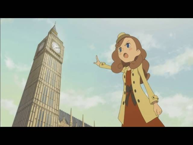 Layton's London Is Almost Like The Real Thing, And It's Just As Gorgeous