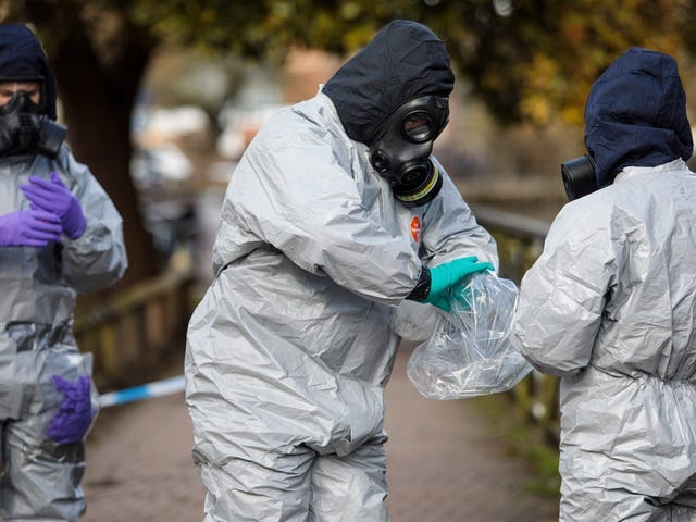 Every Blade of Grass Tainted by Novichok Nerve Agent to Be Incinerated in Massive Cleanup by UK