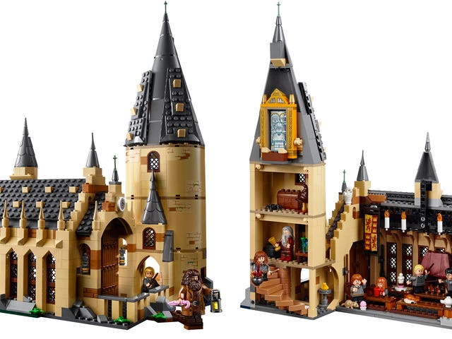 Lego's New Hogwarts Great Hall Set Is Going to Magically Drain My Wallet