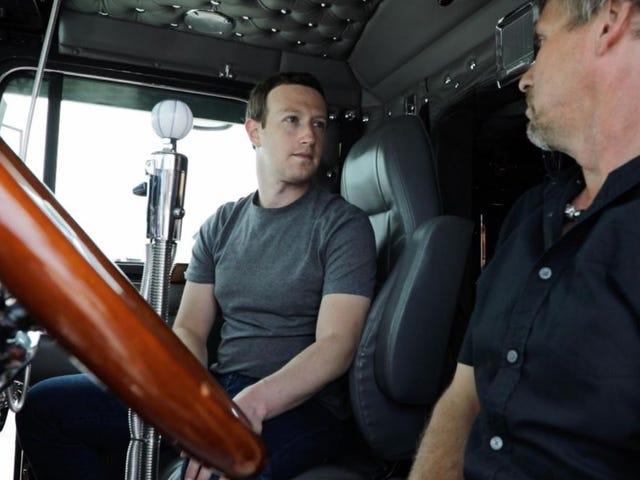 Tur Kampanye Zuckerberg 2020 Menarik untuk Menjelaskan Apa itu Truckstop Is