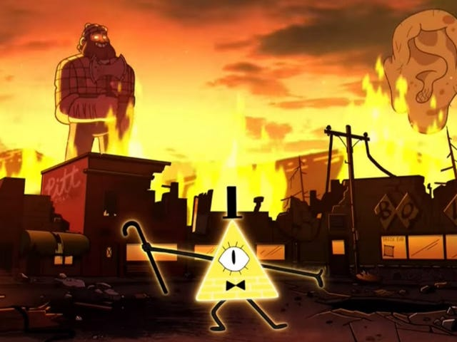 This Week's TV: Gravity Falls Ends With The Coming of the Weirdmageddon!
