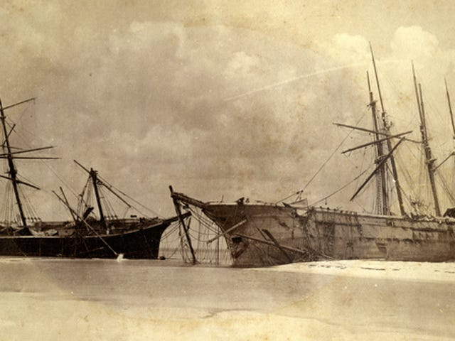 Report: Hurricane Michael's Storm Surge Dredged Up 119-Year-Old Vessels Wrecked By Carrabelle Hurricane