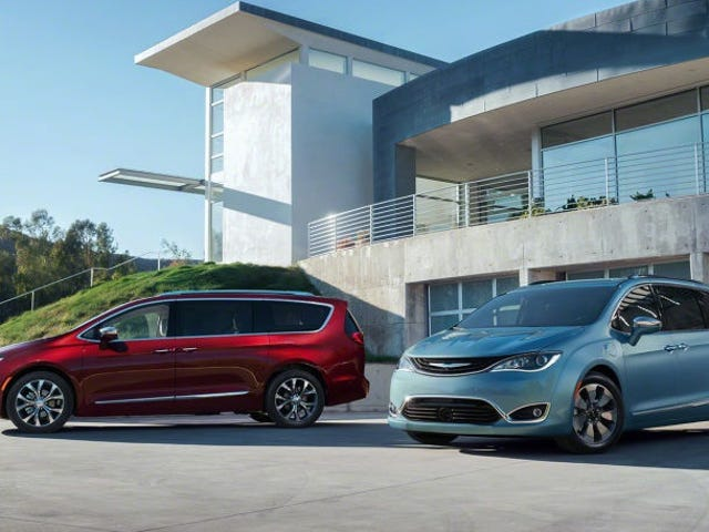 2017 Chrysler Pacifica и Pacifica Hybrid: Это все