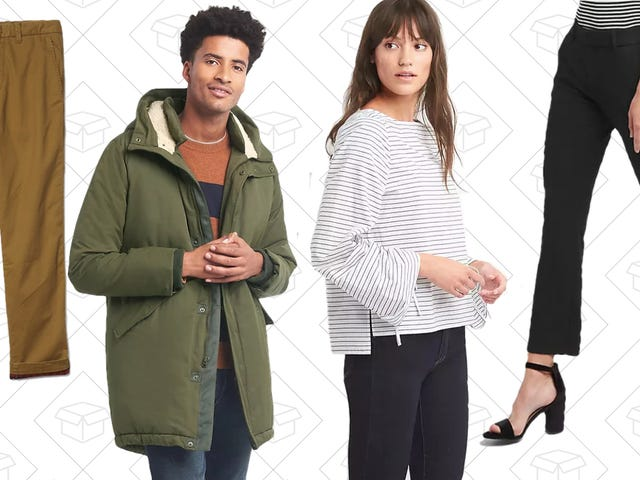 GAP Is Taking 40% Off Everything, Including Their Winter Sale
