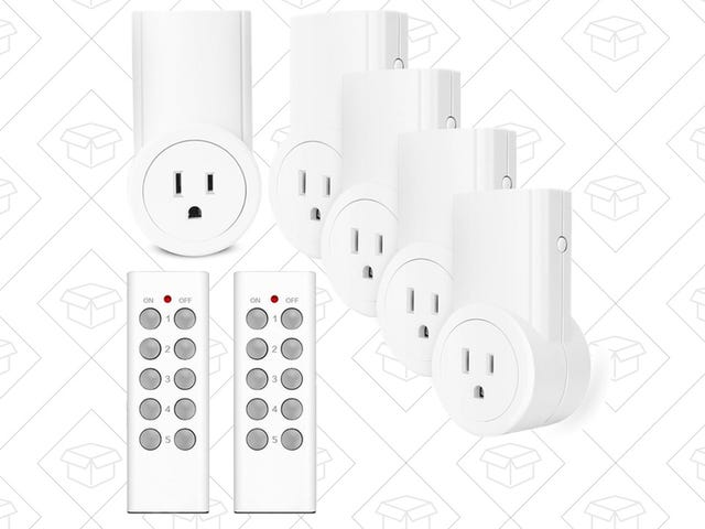 Control Your Lights From Afar With These Ultra-Affordable Outlet Switches