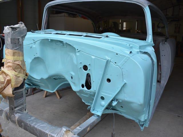 1955 Chevy Bel-Air Project - agora com cores!
