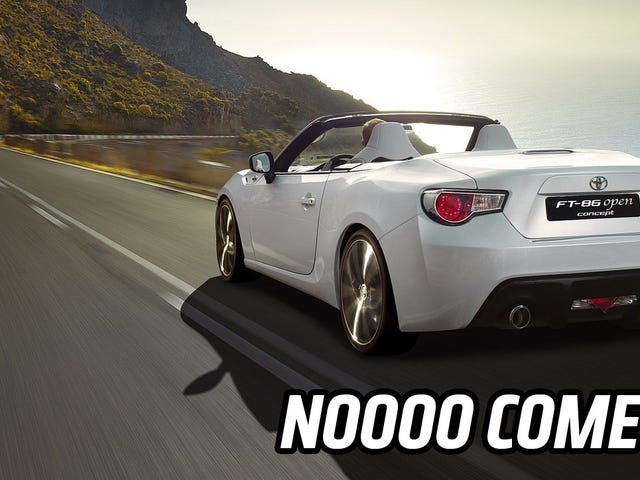 A Scion FR-S Turbo Or Convertible Are For Real Not Happening, People