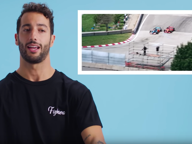 Watch Daniel Ricciardo Talk Days Of Thunder, Talladega Nights And More Racing Movies