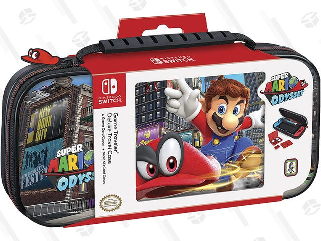 Super Mario 3D All-Stars Is on the Way, So Dress Your Switch Up With This $11 Super Mario Odyssey Case