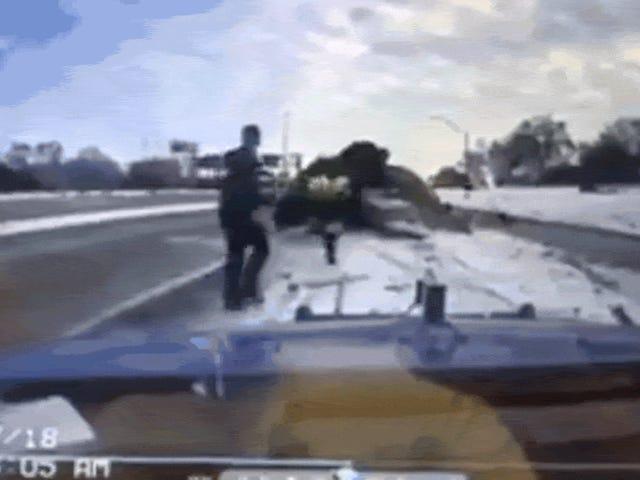 Ang Nakakatakot na Aksidente Sa Isang Detroit Freeway Hits Malapit sa Tahanan