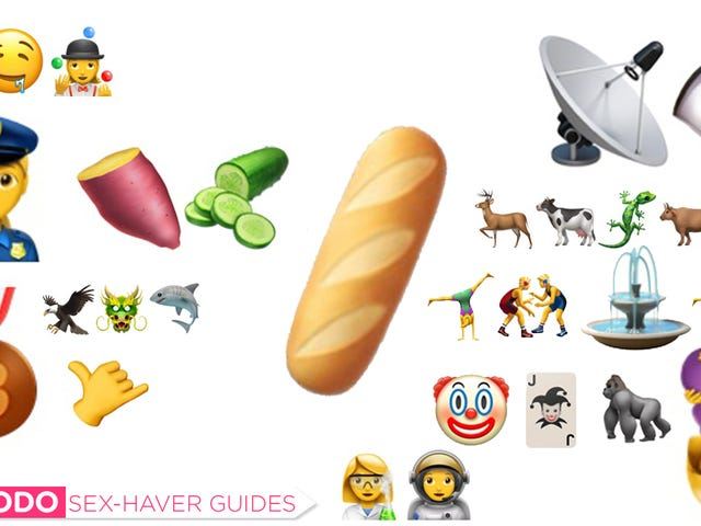 The Sex-Haver's Guide to Using the New iPhone Emoji