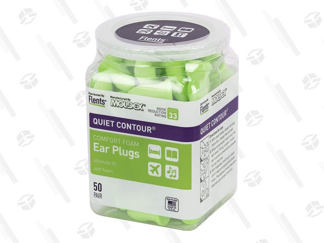 Hear That? No, You Don't. It's a Deal on Ear Plugs.