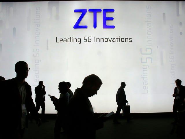 Trump Saved China's ZTE, But Senators Are Still Trying to Kill It