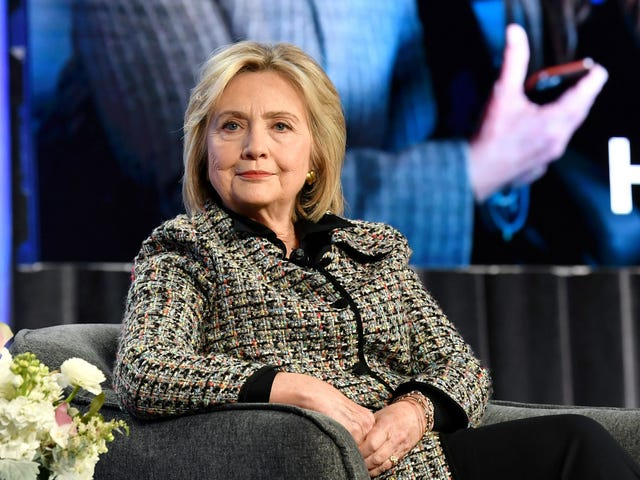 Hillary Clinton hjælper ikke