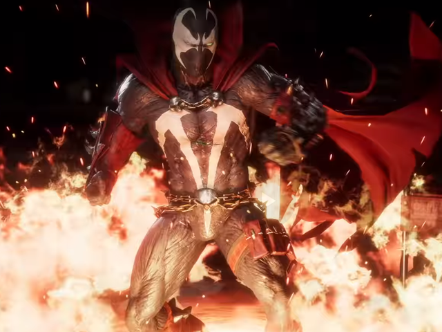 Spawn Has A Lot Of Weapons In Mortal Kombat 11
