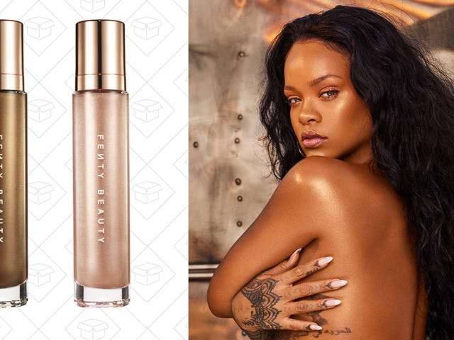 "Fenty Beauty Goes Full '90s With New Body Glitter Dubbed ""Body Lava"""