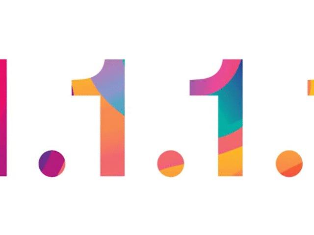 Cómo usando 1.1.1.1 e 1.0.0.1, os novos servidores DNS mais rápido del mundo