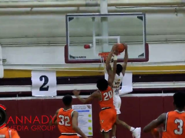 This Perfect High School Basketball Highlight Has One Block, One Dime, One Dunk, And Zero Dribbles