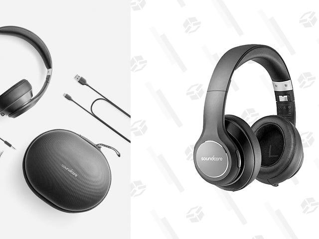 Ahorre $ 35 en un par de auriculares inalámbricos Anker Over-Ear, ahora mismo