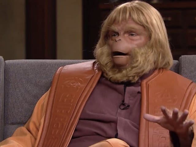 Dr. Zaius Fondly Remembers Bekerja Dengan &#39;Chuck&#39; Heston di <i>Planet of the Apes</i>