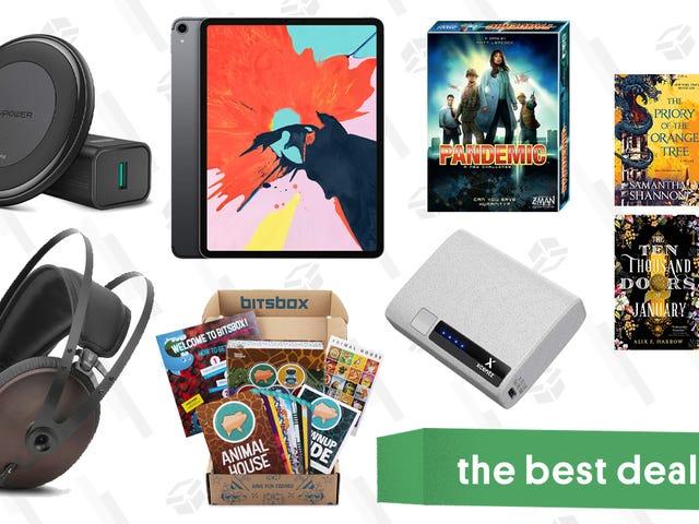 Sunday's Best Deals: Meze 99 Noir Headphones, RavPower Qi Charger, Kindle eBooks, and More