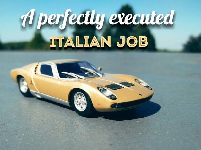 A perfectly executed Italian job