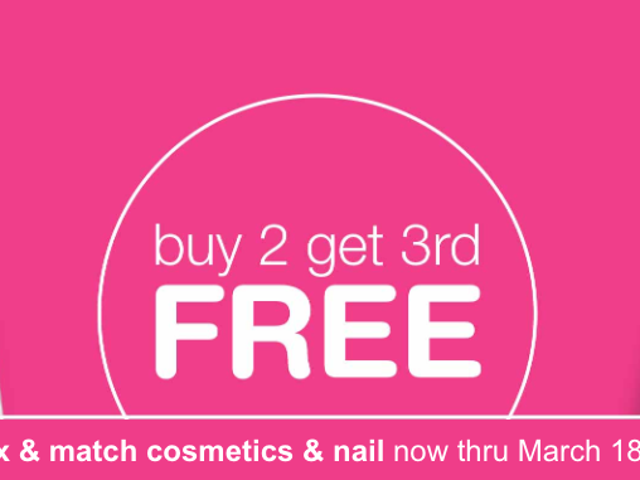 Buy Two, Get One Free On Your Favorite Drugstore Beauty Products from Walgreens