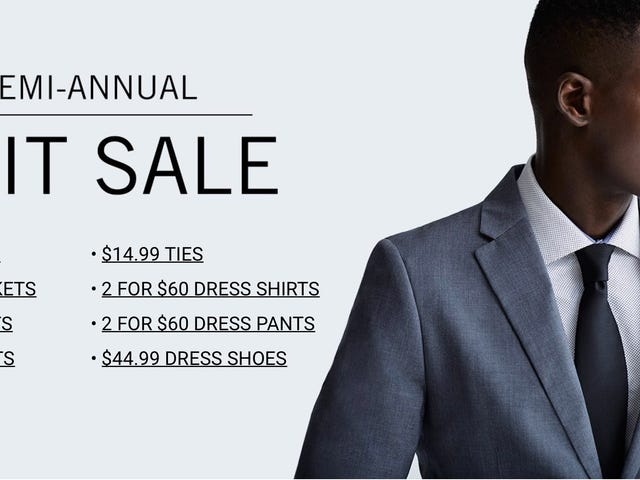 Get Ready For Wedding Season With The Perry Ellis Semi-Annual Suit Sale [Update: Extra 10% Off]