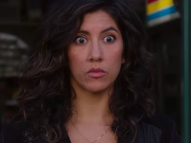 Here's our 1st look at Gina Rodriguez playing Rosa's love interest on Brooklyn Nine-Nine