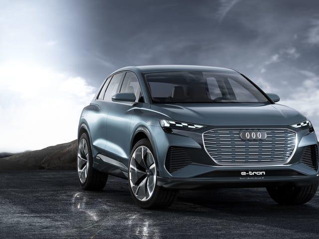 Audi Q4 E-Tron Concept: Audi's Electric SUV Takeover Continues