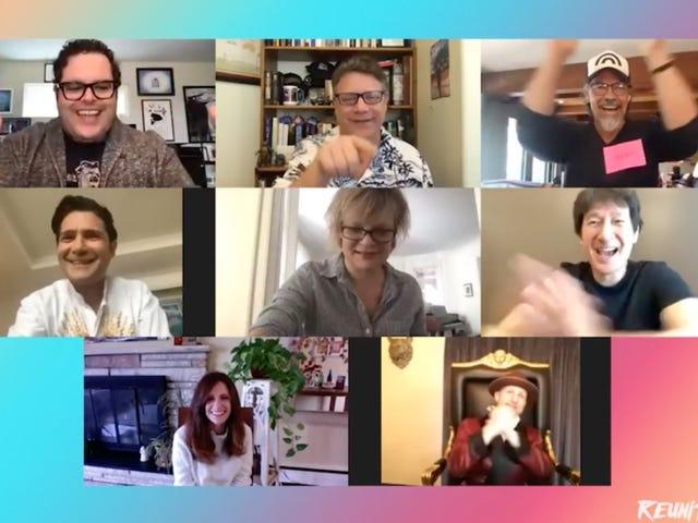 De cast van The Goonies herenigt zich voor een Goofy-video en een goed doel