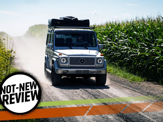 Using A Mercedes-Benz G-Wagen As A Camper Finally Gives It A Real Purpose