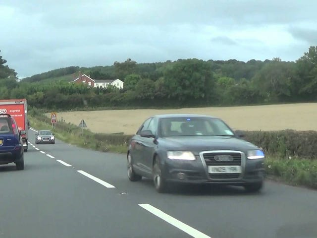 Unmarked Police Audi's