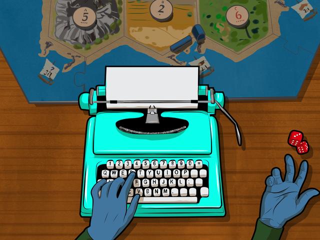 Làm thế nào để sử dụng trò chơi để bàn để trở thành một nhà văn tốt hơn