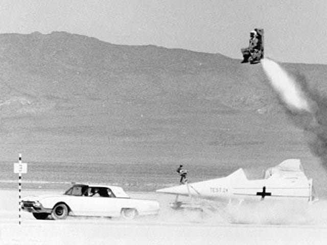SR-71 Ejection Seat Test