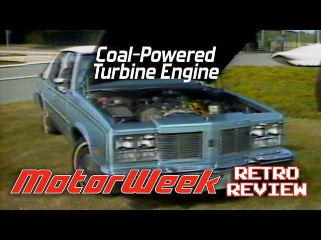 GM ooit gebouwd deze fascinerende steenkool aangedreven turbine auto's
