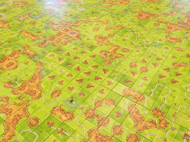 World Record <i>Carcassone </i>Game Used <i>10,000 Tiles</i>