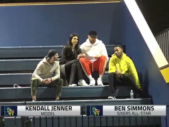 If Kendall Jenner Is Going To Drexel Basketball Games With Ben Simmons, It Really Is True Love