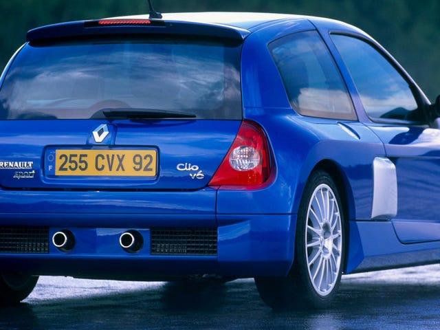 Ang mundo ay nararapat ng Isa pang Renault Clio V6