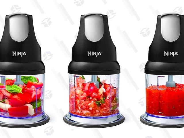 Cut Down Kitchen Prep With This $14 Ninja Express Chopper