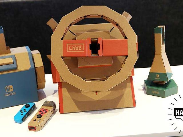 OK Fine, Maybe Nintendo's on to Something With the Labo Vehicle Kit