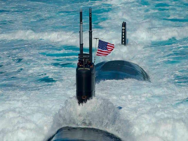 Nye detaljer Emerge About Ring of Sailors, der Filmed Nude Female Shipmates Ombord Submarine