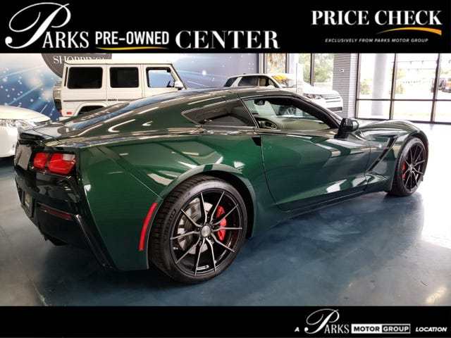 Which one of you needs a green C7 with a brown interior?