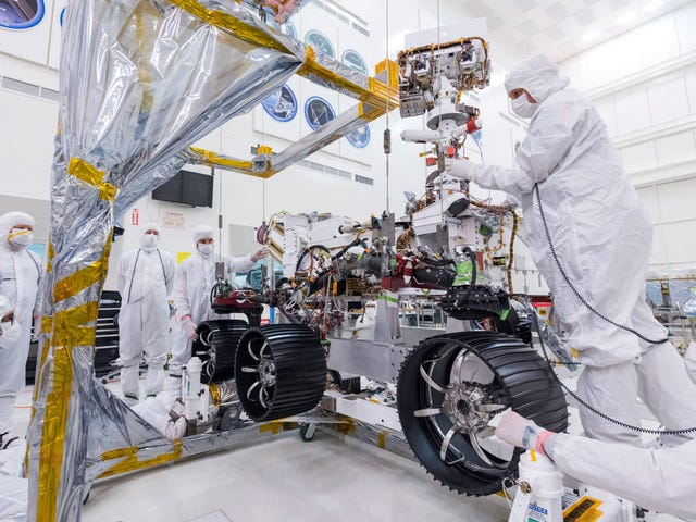 NASA Put Wheels on Its Mars 2020 Rover and Holy Crap This Is Actually Happening