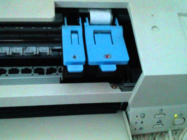 This lowly inkjet printer made some cool noises.