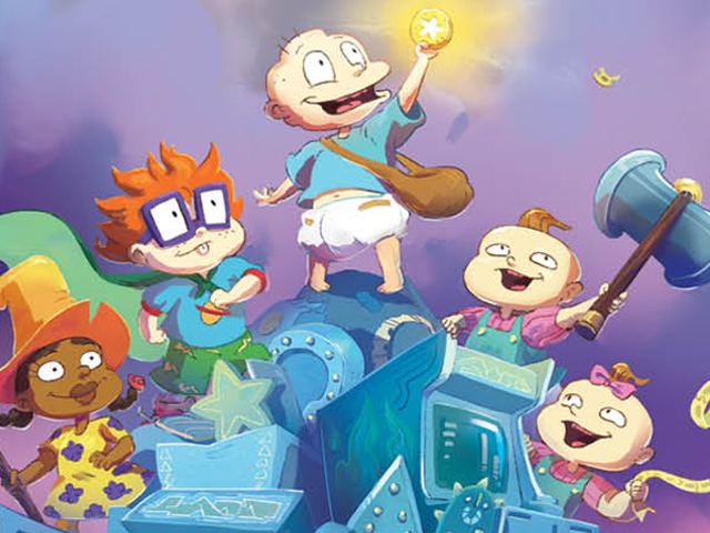 The Rugrats Are Getting Downright Fantastical in Their First Graphic Novel