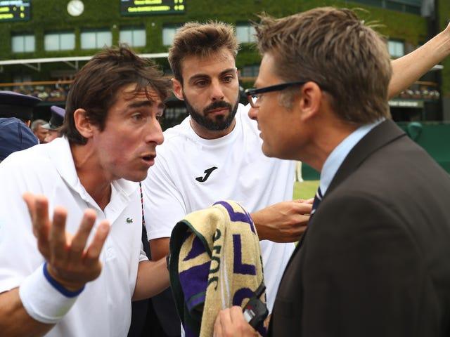 Pablo Cuevas a protesté contre son match contre Wimbledon parce qu'il n'était pas autorisé à faire pipi