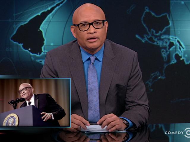 Larry Wilmore, Muhabirlerin Akşam Yemeğinde Obama 'Benim Niggam' çağrısında bulundu