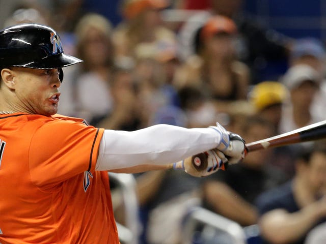 Giancarlo Stanton Shames Heckling Fan With His Mighty Swing