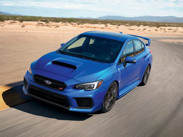 Subaru WRX Owners Are Getting All Of The Speeding Tickets: Study